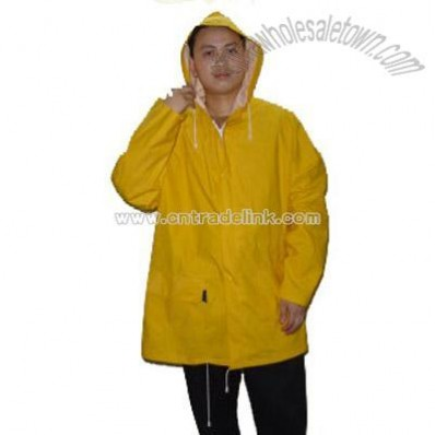 Pvc, Polyester Raincoat