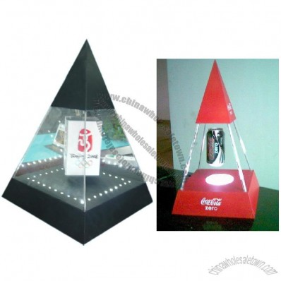 Pyramid Floating Display Lightbox