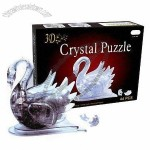 Pyramid crystal blocks puzzle toy, 44 pieces in total