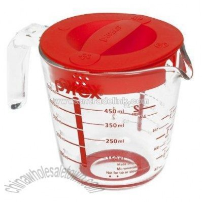 Pyrex Accents 2-Cup Measuring Cup with Lid
