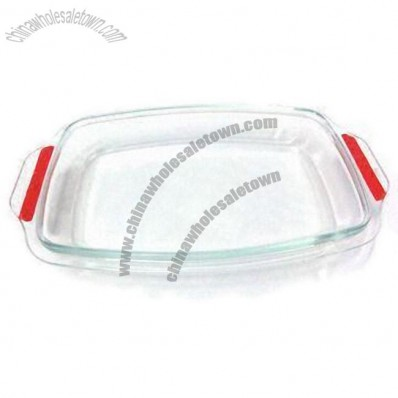 Pyrex Glass Bakeware with Silicon Handle