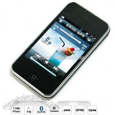 Quad-Band 3.5 Inch Touch Screen Mobile Phone