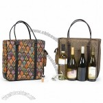 Quad Bottle Bag, 4-Bottle Wine Tote