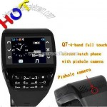 Quadband Single-Card 2.0MP Camera Watches Mobile Phone