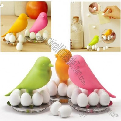 Qualy Egg Sparrow Magnet