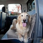 Quick-Fit Bench Back Seat Cover for Dogs