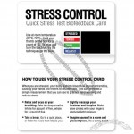 Quick Stress Test Biofeedback Cards with No Logo (20 Pack)