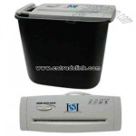 Quick and safe electric paper shredder