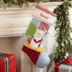 Quilted Santa Stocking