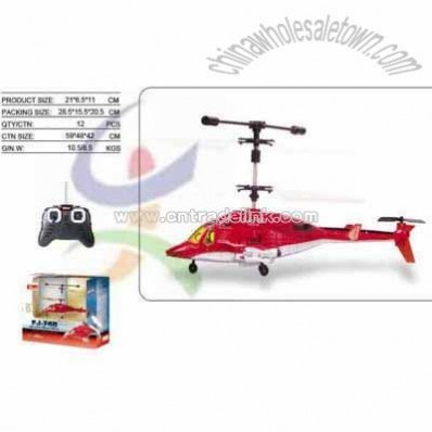 R/C 3CH Airwolf Helicopter