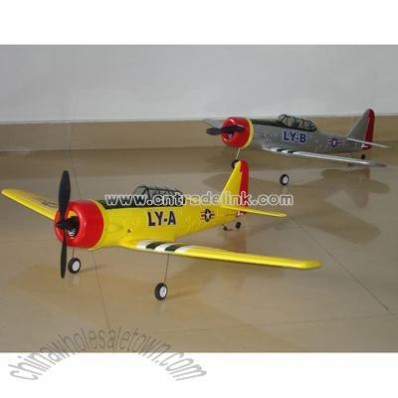 R/C 4CH AT6 Airplane