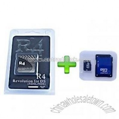R4 0815 Revolution for DS (Simple Packaging) / Micro SD 2GB