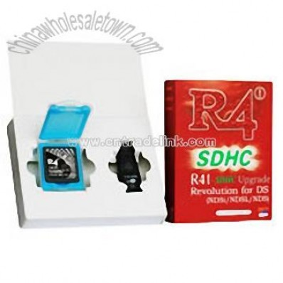 R4 SDHC Revolution for Nintendo DS, R4i, China Wholesale Town Supplier