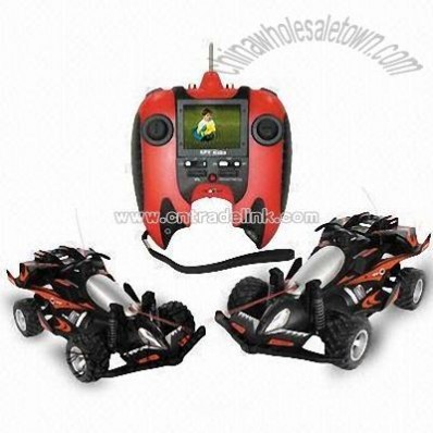 RC Car with Combat Function and Built-in Miniature Wireless Video Camera