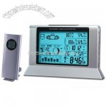 RF Weather Station & Radio Controlled Clock with World Time