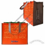 RPET Grocery Shopping Bag with OPP Film and Matte Lamination