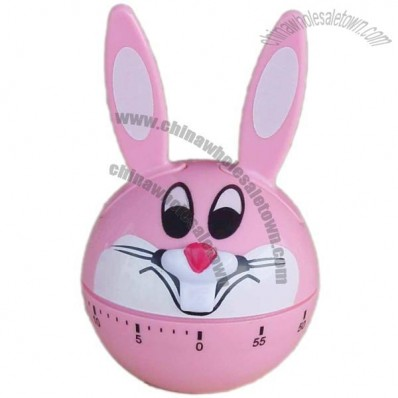 Rabbit Shaped Mechanical Countdown Kitchen Timer