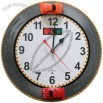Racing Car Design Hourly Chime Wall Clock