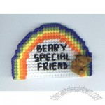 Rainbow Bear Fridge Magnet