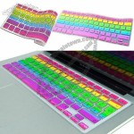 Rainbow Keyboard Silicone Cover Skin for MacBook Pro 13