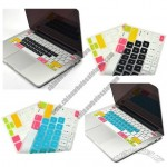 Rainbow Keyboard Silicone Cover Skin for Macbook 13