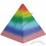 Rainbow Pyramid Stress Ball