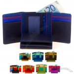 Rainbow Tri-fold Wallet w/Outer Zip Purse