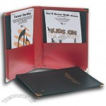 Raised-Grain Leatherette Choral Folder