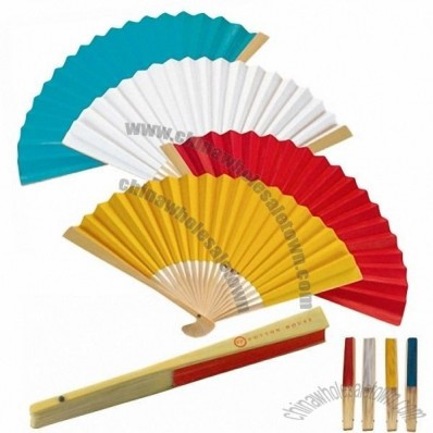 Range Paper / Bamboo Advertising Fan