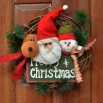 Rattan Ring Christmas Wreath