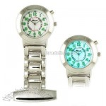 Ravel Nurses EL Stainless Steel Fob Watch