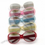Real D Circular Polarized 3D Glasses