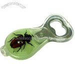 Real Insect Crystal Bottle Opener with Magnet