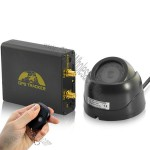 Real-Time Car GPS Tracker + Alarm System (GSM Camera, Microphone, Shock Sensor)