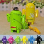 Rechargeable Android Robot Mini Fan