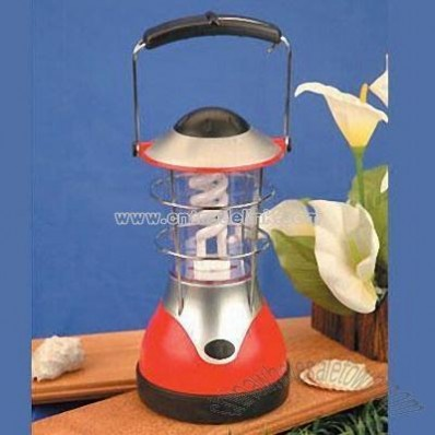 Rechargeable Camping Lantern with Spiral tube and 12V DC Car Charger