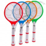 Rechargeable Insect Mosquito Fly Killer Zapper Bug 3 Layers Net Swatter Racket With Flashlight Home Use