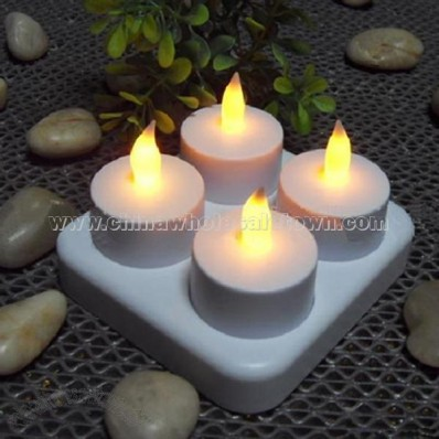 Rechargeable LED Candles Lamp