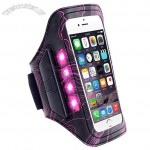 Rechargeable LED glowing mobile phone Armband