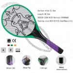 Rechargeable Powered Handheld Electric Insect Bug Mosquito Zapper Fly Swatter
