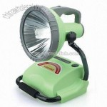 Rechargeable Spotlight with Energy-saving Tube and Adjustable Light Head