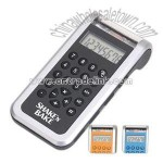 Rechargeable calculator