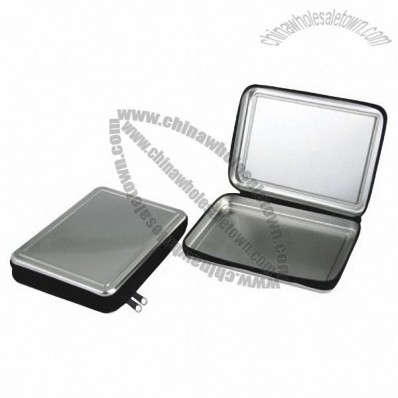 Rectangle CD Tin Boxes with Zipper
