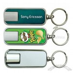 Rectangular Color Image Projection Key Chain