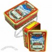 Rectangular Food Tin Box, for Gift, Cookie and Biscuit Package