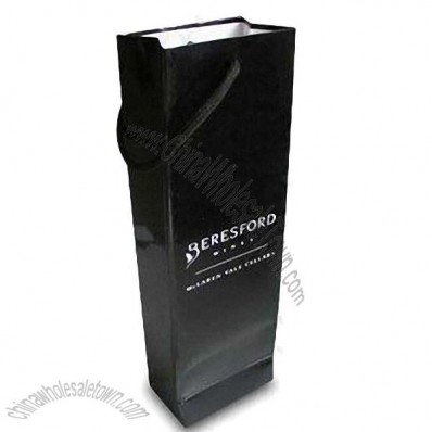 Recyclable Paper Wine Bag