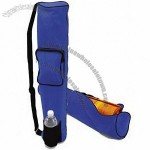 Recycled Cotton Yoga Mat Bag-Pocket & Water Carrier