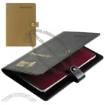 Recycled Leather Passport Holder