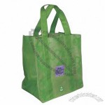 Recycled Non-Woven 6 Bottle Wine Tote Bag