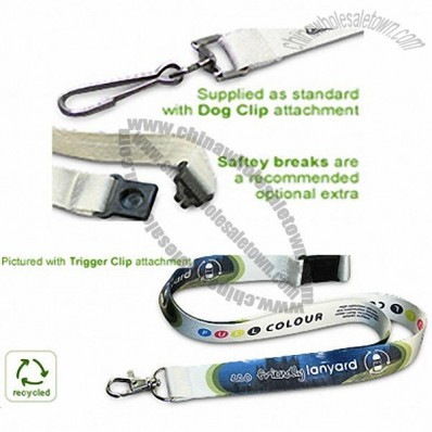 Recycled PET Deluxe Lanyard